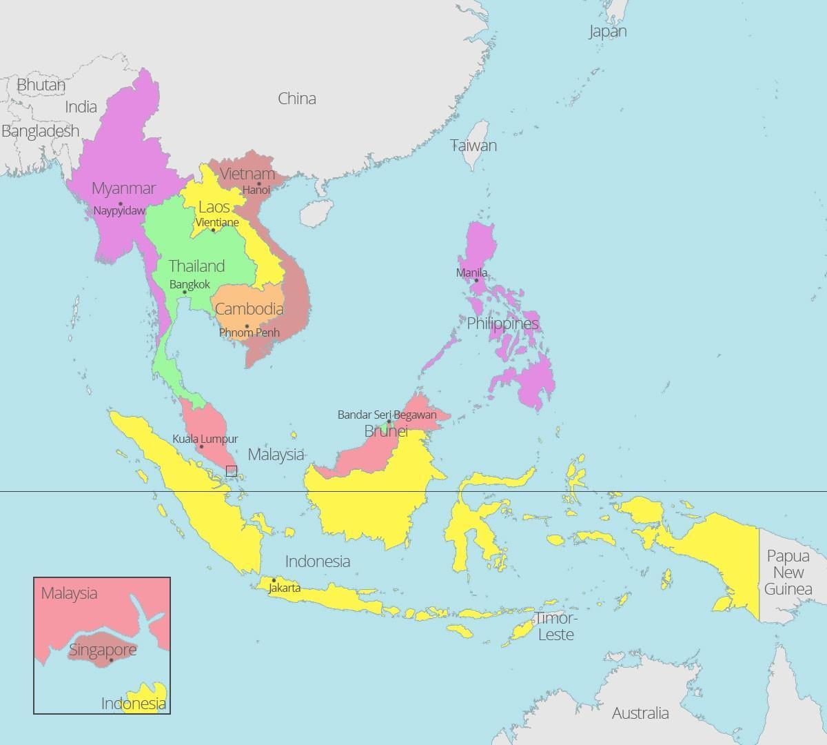 Kuala Lumpur Harta Lumii Kuala Lumpur Localizare Pe Harta Lumii