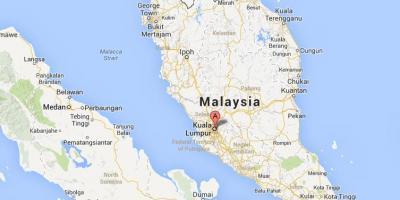 Kuala Lumpur Kl Hartă Hărți Kuala Lumpur Kl Malaezia